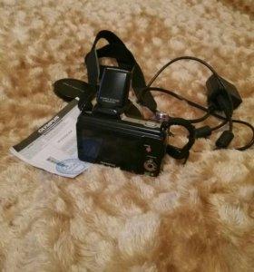 Фотоаппарат olypmus 36кр зум,сейчас за 6000
