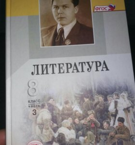 Учебник Литература 8 класс, 3 части