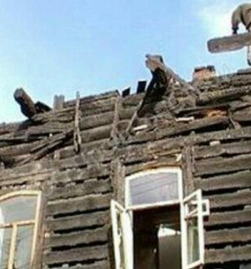 Сломаем старые постройки