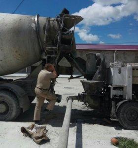 Стационарный бетонныйнасос