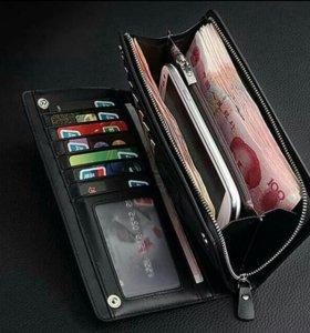 Качественный итальянский кошелек для мужчин