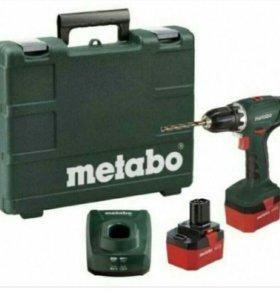 Аккумуляторный шуруповерт Metabo BS12NiCd