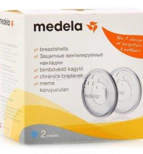 Накладки вентилируемые для груди Medela.