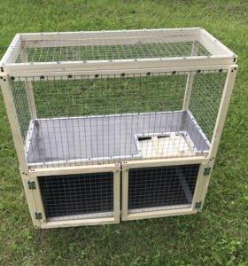 Клетка вольер для кроликов