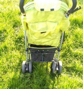 Детская коляска компактная, складная