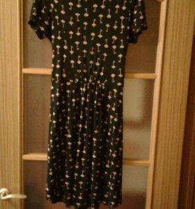 Платье трикотажное р.44-46