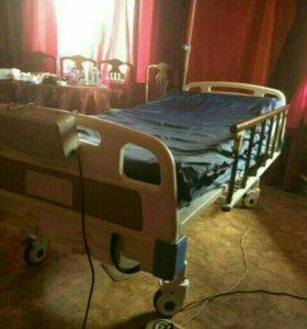 Кровать для лежачий больных.