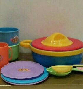 Посуда для маленьких детей.