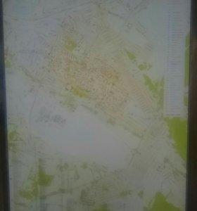 Карта г. Арсеньева