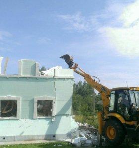 Услуги демонтажа бетонных конструкций