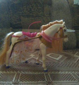 Кукла блум и лошадь пег