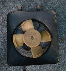 Два Вентилятор на хонду