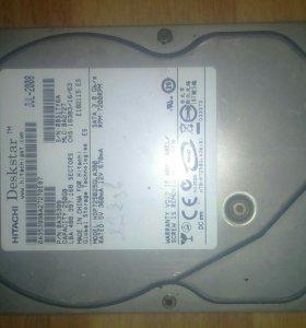 HDD Hitachi 232 gb. SATA