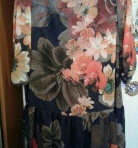 Платье шифоновое новое