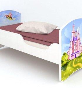Детская кровать без ящиков Фея