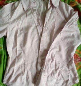Продам новую женскую рубашку светло-розового цвета