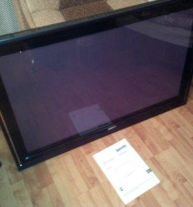 Телевизор плазмаSANYO 42''на запчасти.Экран целый.