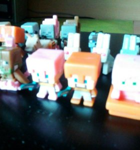 Minecraft фигурки (майнкрафт игрушки)