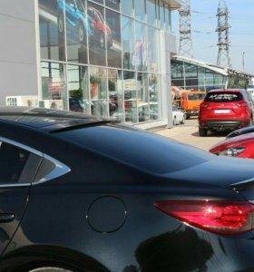Козырек на заднее стекло Mazda 6 (13-14)