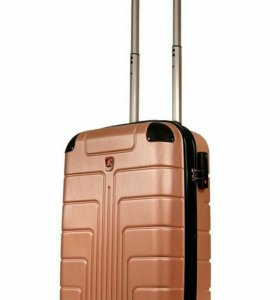 Пластиковый чемодан Luyida бронзовый L, Шоу-Рум
