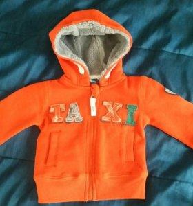 Новая куртка кофта 68-74