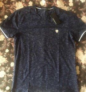 Фирменная футболка -Armani.