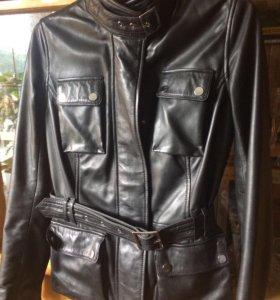 Продам натуральную кожаную куртку