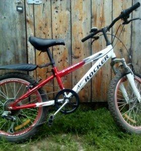 Велосипед Rocker x-trail подростковый 6 передач