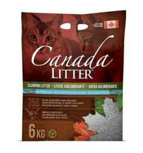 """Canada Litter Канадский комкующийся наполнитель """""""