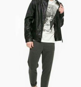 Кожаная куртка Blend размер 46