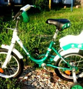 Новый велосипед 4-8 лет