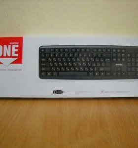 Клавиатура SmartBuy 112 USB черная новая
