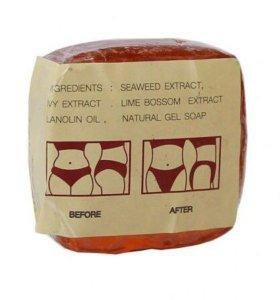 Натуральное массажное мыло для похудения