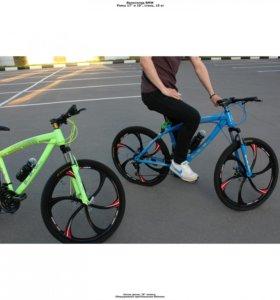 Велосипед с крутыми дисками