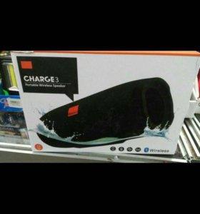 Портативная колонка   Bluetooth JBL charge 3