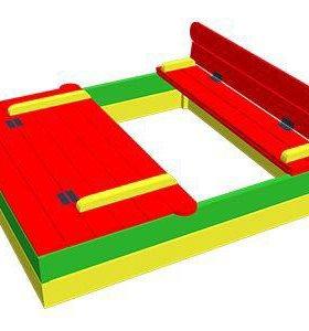 Песочница для детей из массива