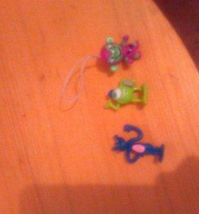 3 Детских игрушек
