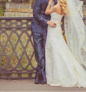 Свадебное платье 40-42 срочно
