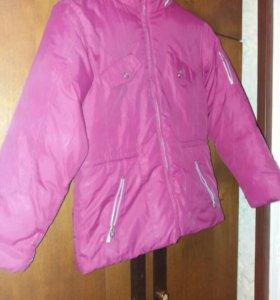 Куртка детская 9-10лет