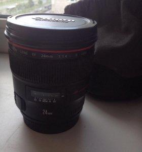 Объектив Canon 24mm II L