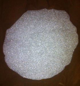 Стекло шарик 150-600мкм, светоотражающая присыпка