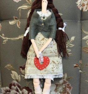 Очаровательная кукла тильда!