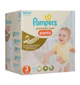 Трусики Pampers Premium Care 3(56шт)