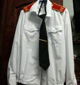 Парадная кадетская рубашка.