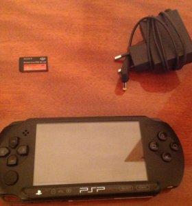 Продам PSP,с игрой+зарядка,и сим карта на 8Gb