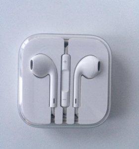 Наушники Гарнитура оригинальные  apple earpods