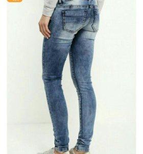 Новые джинсы для беременных, р.46-48