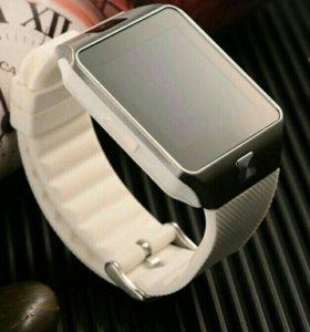 Умные часы Smart Watch DZ 09 с сим,новые+ спинер