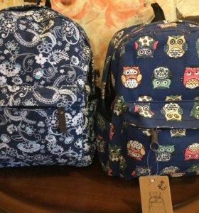 Новые вместительные рюкзаки