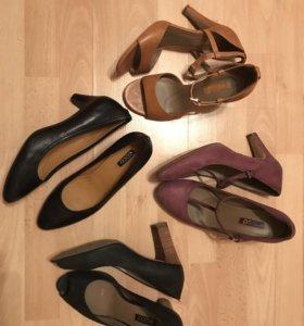 3 пары обуви Ecco